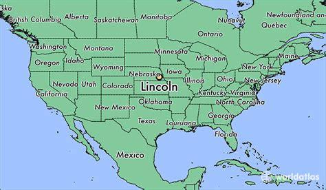 where is lincoln ne lincoln nebraska map worldatlas