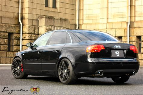 audi a4 matte black b8 black audi a4 with 19 quot forgestar f14 finished in matte