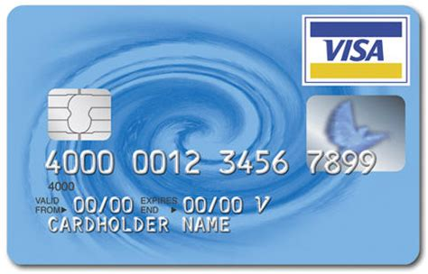 visa card number