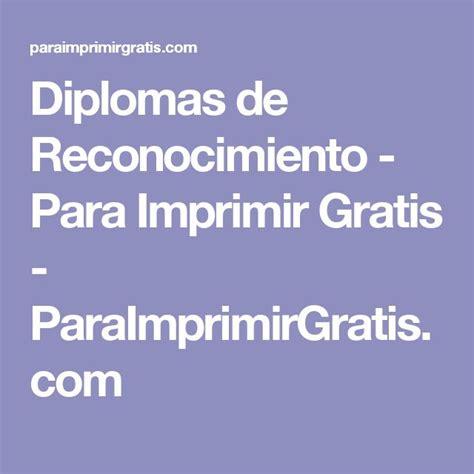 diplomas de agradecimiento para imprimir gratis paraimprimirgratis las 25 mejores ideas sobre diplomas de reconocimiento en