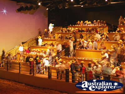 australian outback spectacular audience finding
