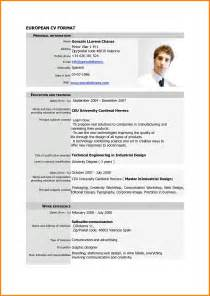 Good Resume Format Pdf by 10 Example Of A Good Cv Pdf Housekeeper Checklist