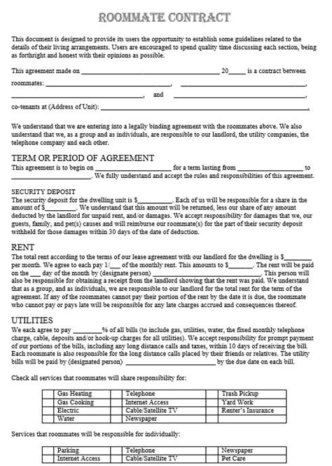 legally binding contract template 12 free sle legally binding agreement templates printable sles