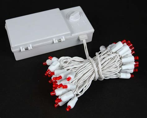 battery powered white string lights white wire battery operated christmas string lights