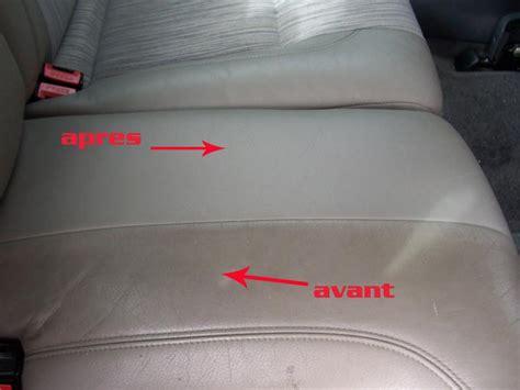 nettoyer si鑒e en cuir voiture comment nettoyer siege en cuir de voiture voitures