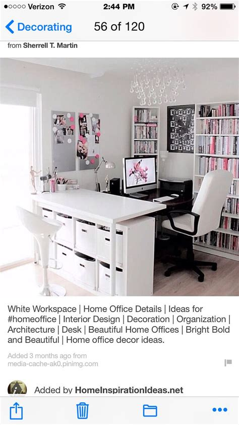 25 best ideas about feminine home offices on