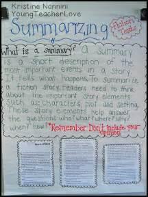 summarizing fiction texts simplified