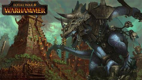total war warhammer lizardmen lore army units