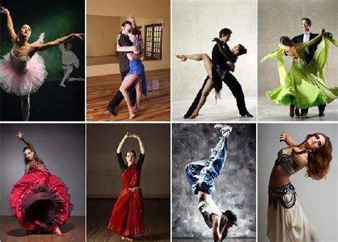different types of dance types of dances and different dancing styles