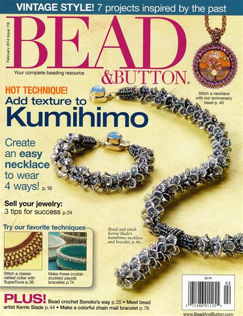 bead button magazine subscription discount 1 year