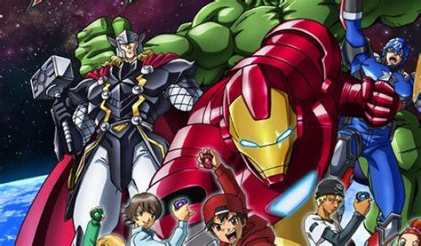Kaos Anime Uzumaki Jepang edannn serius marvel luncurkan versi anime