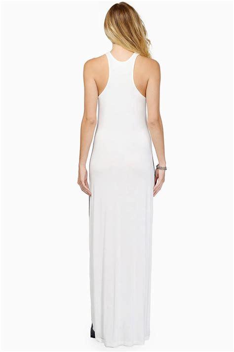 ivory color dress ivory black maxi dress color block dress 13 00