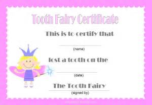free printable tooth certificate template free tooth certificate