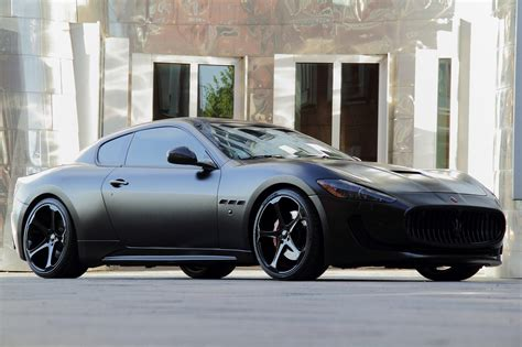 black maserati anderson germany maserati granturismo s superior black edition