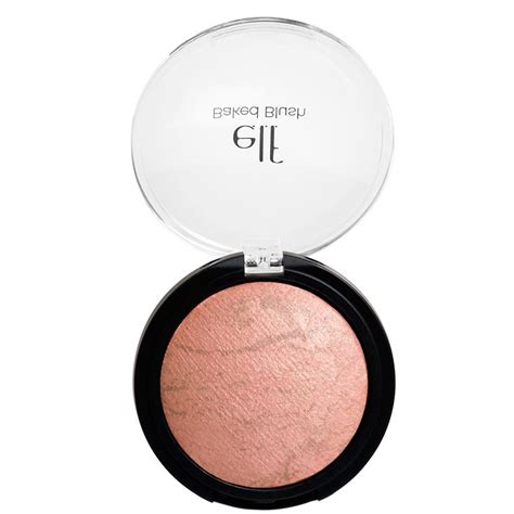 E L F Baked Blush e l f cosmetics baked blush peachy cheeky 0 21 oz 6 g