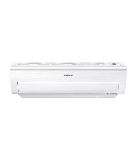 Samsung 1 Ton Ac Samsung 1 Ton 5 Ar12jv5nbwk Split Air Conditioner Plain White Price In India Buy