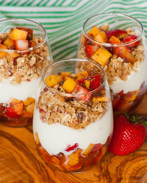 fruit parfait fruity granola yogurt parfait tatyanas everyday food