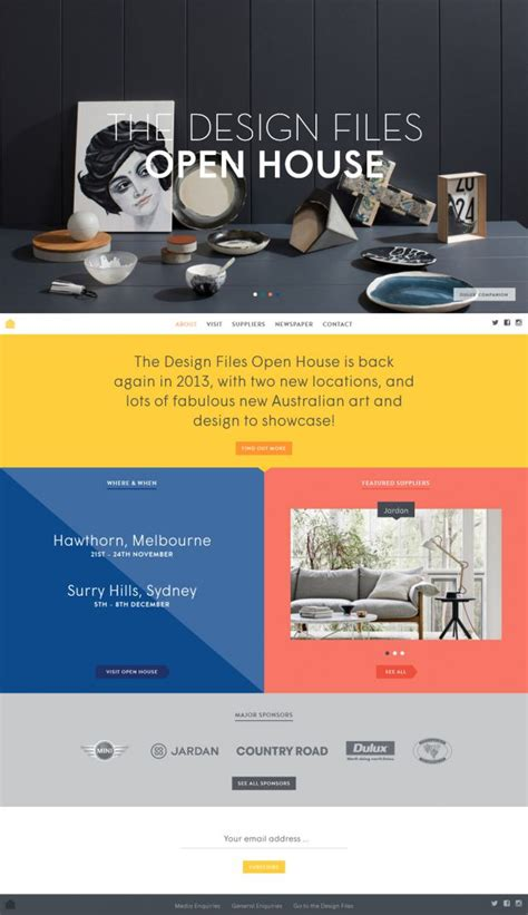 the design files open house the design files open house webdesign inspiration www niceoneilike com