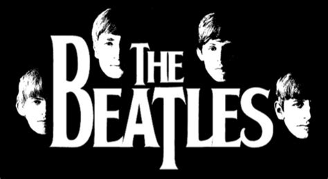 The Beatles Black Logo beatles 50th anniversary