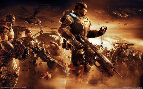 Wallpaper Game War | gears of war 2 wallpaper hd wallpaper 23303