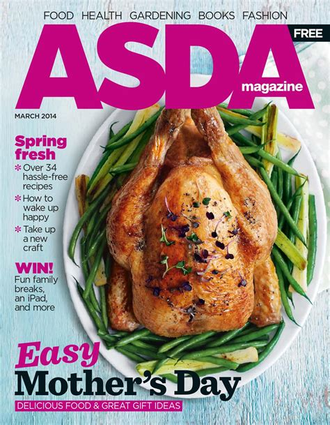 new year food asda asda magazine march 2014 by asda issuu