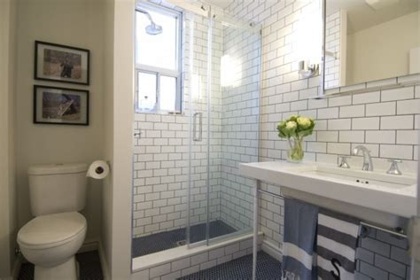 subway tile in bathroom ideas subway tile for small bathroom remodeling gray subway