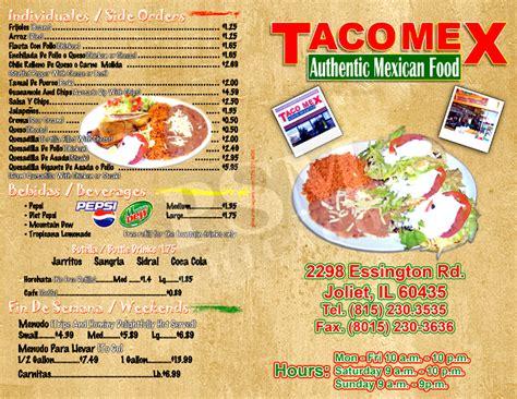 design mexican menu mexican restaurant menu design