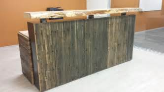 Industrial Reception Desk Image Gallery Industrial Reception Desk