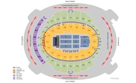 Ticketmaster Floor Plan 11 Madison Square Garden Concert Seating Chart Mac