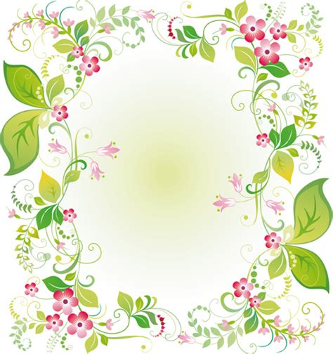 floral pattern frame vector flower frame vector free vector download 14 769 free