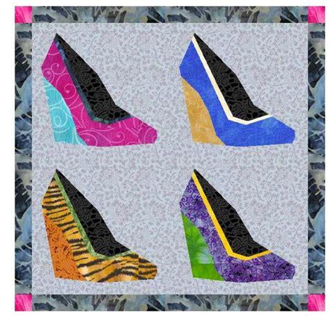 pattern paper shoe wedge shoe paper piecing pattern by borsedigaya craftsy