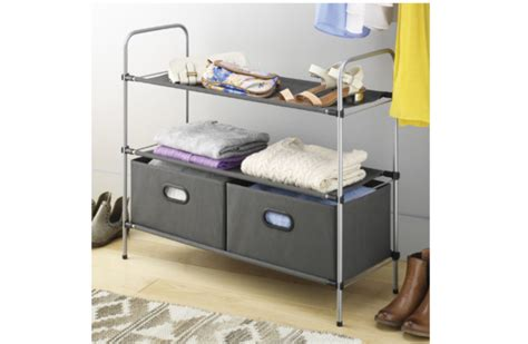 Closet Organizers Sale by Whitmor Closet Organizer With 2 Shelves On Sale