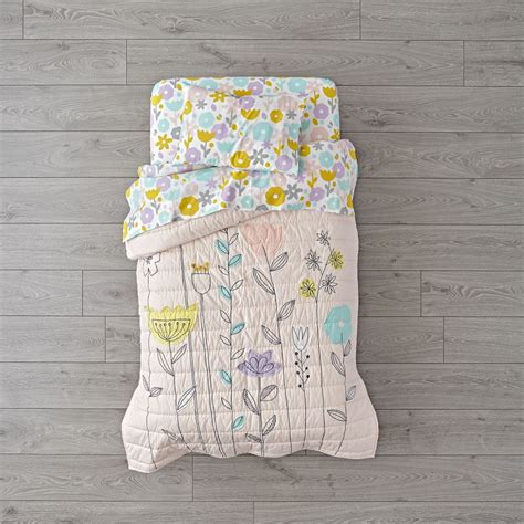 land of nod toddler bedding floral suite toddler bedding the land of nod