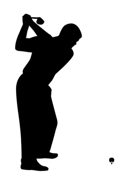 golf clipart golfer images clipart best