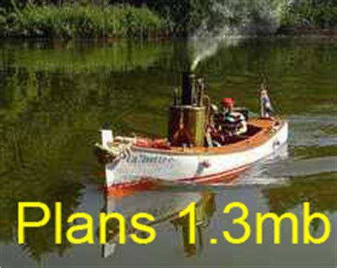 steam boat making steam engine plans