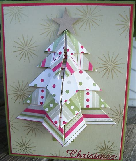 Origami Tree Card - 3 best images of origami tree card
