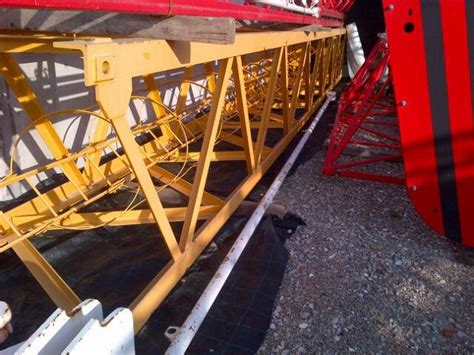 tower sections for sale used potain section s23e for mc68b tower cranes for sale