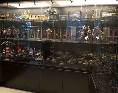 toys display cabinet toys ds001a c iron man 2 1 6th scale hall of