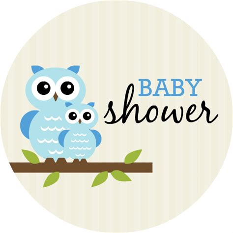 Baby Shower Boy Owl Theme by Blue Whimsical Owls Boy Baby Shower Invitation Template