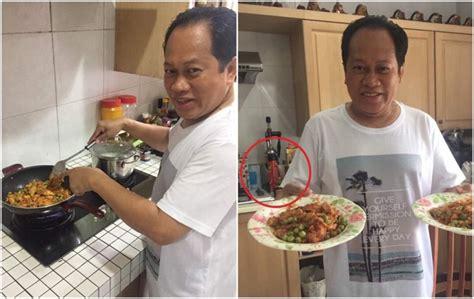 ahmad maslan tunjuk kepakaran memasak netizen tegur