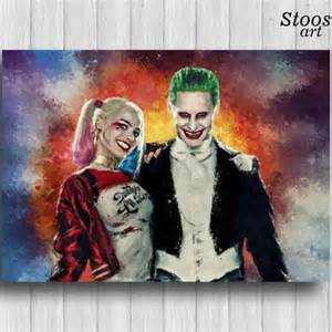 Painting Ideas For Dining Room Best Harley Quinn Joker Poster Products On Wanelo