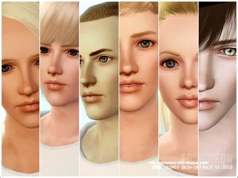 sims 4 default skin replacement my sims 3 blog sims3 default replacement skin face v1 0
