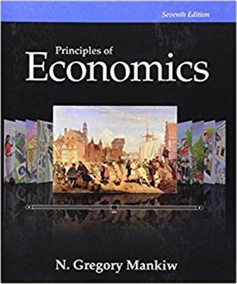 principles of economics books principles of economics 7th edition 9781285165875