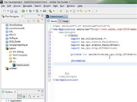 tutorial xml youtube tutorial flex y xml basico nivel principiante 1ra parte 1