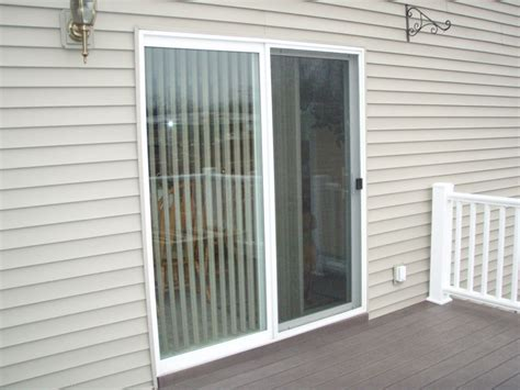 Patio Single Door by Somple Sliding Glass Patio Door With Thin Header And