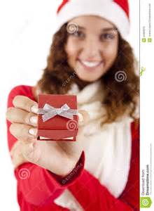 Picture Of Pretty Christmas Woman In » Ideas Home Design