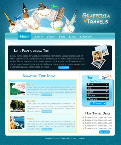 layout web travel let s create a cool travel agency layout web layout