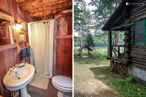 Log Cabin Rental Ny by Lakefront Log Cabin Rental In Adirondack Park