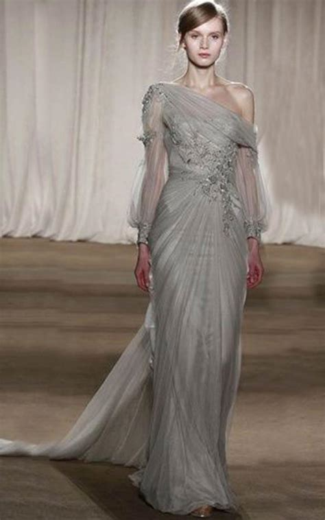 Which Wedding Dress by 19 Silver Colored Wedding Dresses That Left Us Breathless