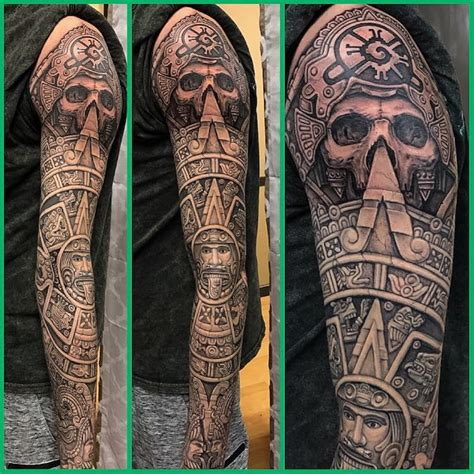 norwalk tattoo studio 50 of the best aztec tattoos insider